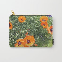 South winds jostle them; poppies in the garden Carry-All Pouch