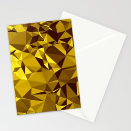 Low poly 2 Stationery Cards