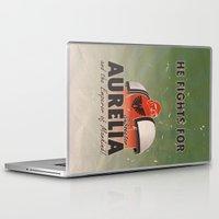 propaganda Laptop & iPad Skins featuring Blood Ravens Propaganda by HenkusFilijokus