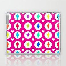 Sweet ice-cream cones Laptop & iPad Skin