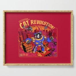 Cat Revolution Serving Tray