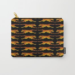 Leaping Tigers Carry-All Pouch