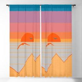 Minimal Sunset 17 Blackout Curtain