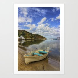 Lets Sail Away Art Print