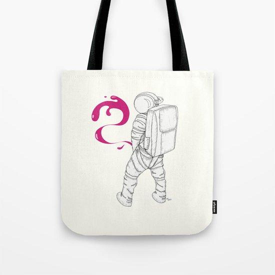 P{ee}ink in Space Tote Bag