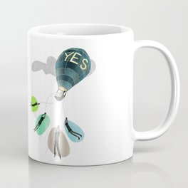 YES Balloon Coffee Mug