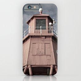 Herd Groyne Lighthouse, South Shields iPhone Case