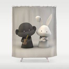 Coffee & Chocolate Milk Shower Curtain