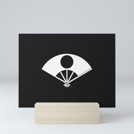 Satake Clan · White Mon Mini Art Print