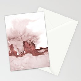 marsala and pink Stationery Cards