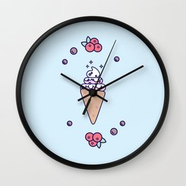Ice Cream (Cone) Wall Clock