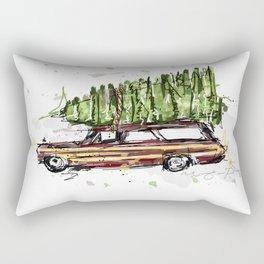Perfect Christmas Tree Rectangular Pillow