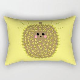 Happy Pixel Durian Rectangular Pillow
