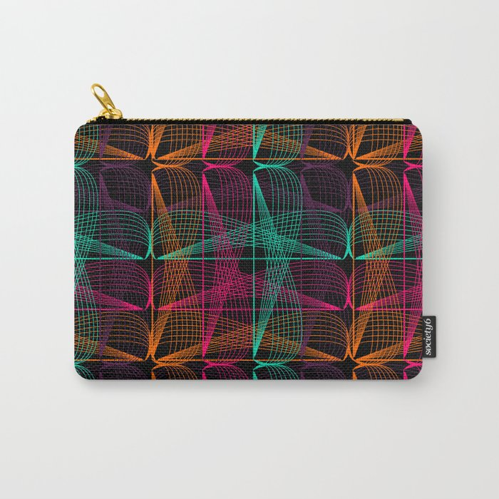 Neon threads Carry-All Pouch