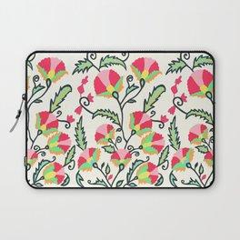 Suzani-inspired Blooms Laptop Sleeve