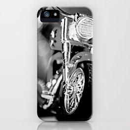 Motorbike-B&W iPhone Case