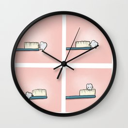 Itchy Bum Wall Clock