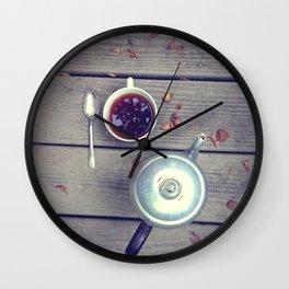 Morning Perk Wall Clock