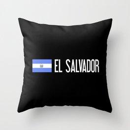 El Salvadoran Flag & El Salvador Throw Pillow
