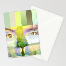Disjointed Memory  Stationery Cards