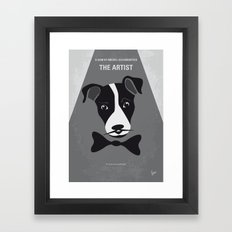 No609 My The Artist minimal movie poster Framed Art Print