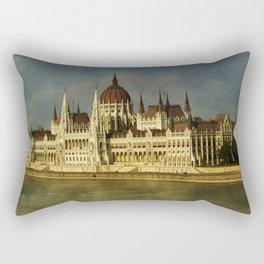 Parlament Budapest Rectangular Pillow