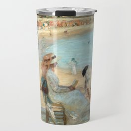 Rupert Bunny On the Beach (Royan) Travel Mug