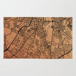 Belfast map Rug
