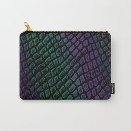 Snakeskin Carry-All Pouch