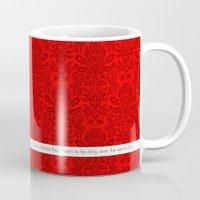 onward Mugs featuring Scottish Breakfast Tea by Belinda Darcey