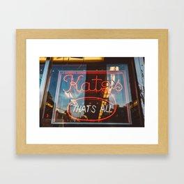 Katz II Framed Art Print