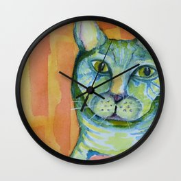 Cleo Gone Wild Wall Clock