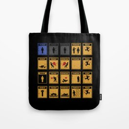 Friday I'm In Love! Tote Bag