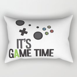 It's Game Time Rectangular Pillow