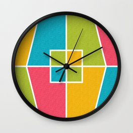 Color Block_Candy Party Wall Clock