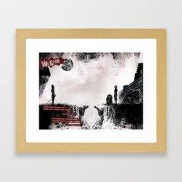 We Grow Framed Art Print