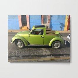 Oaxaca Custom Bug Metal Print