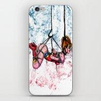 bondage iPhone & iPod Skins featuring Bondage Wonderowman by lucille umali