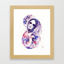 Lacrima Nebulae Framed Art Print