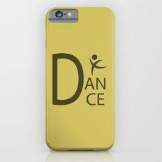 Yellow Dance Symbol Slim Case iPhone 6s