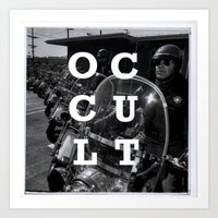 occult Art Prints featuring Occult by Mario Zoots