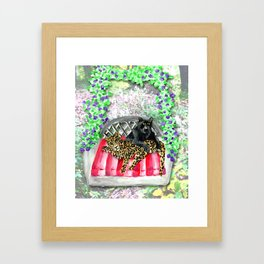 Happy Jaguars Framed Art Print