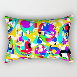 Colorful ovals Rectangular Pillow