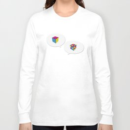 Rubik InQuadri Long Sleeve T-shirt