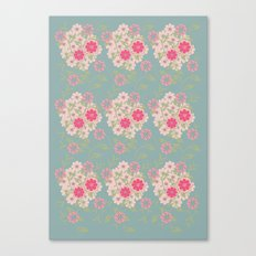 Flower pad Canvas Print