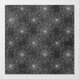 Spider Webs Canvas Print