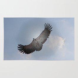 Eagle in Black Rug