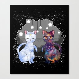Artemis & Luna  Canvas Print
