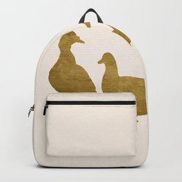 Golden Ducks Backpack