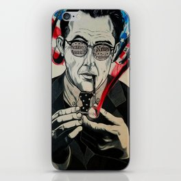 JFK - KEVIN COSTER MOVIE CHARACTE PRINT iPhone Skin